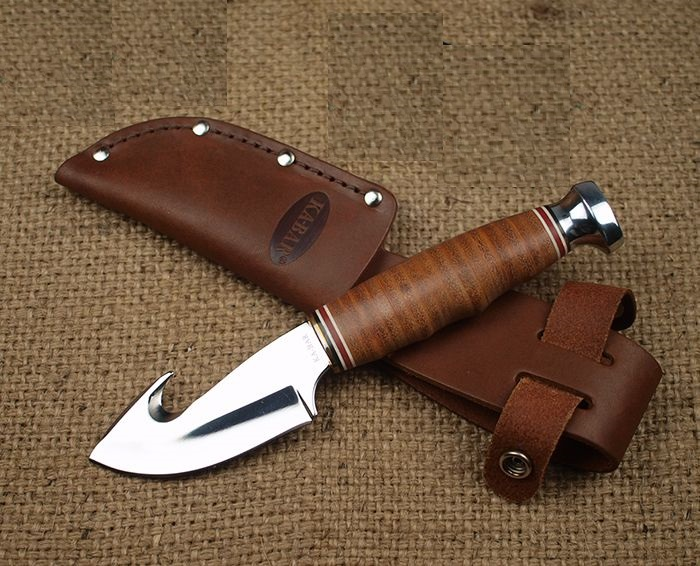 KA-BAR Leather Handled Game Hook KA1234
